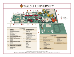 Walsh Campus Map.Fremantle Campus Map The University Of Notre Dame Australia