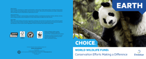 WORLD WILDLIFE FUND: Conservation Efforts Making a Difference