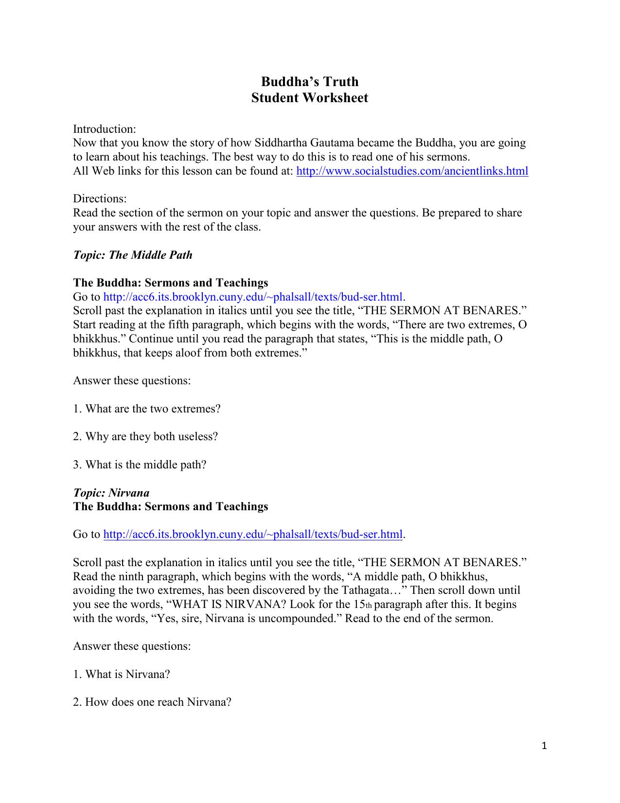 worksheet Tener Worksheet ser worksheet 1 answers the best and most comprehensive worksheets buddhas truth student worksheet