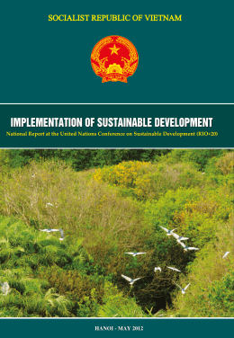 National Report - Viet Nam - Sustainable Development Knowledge