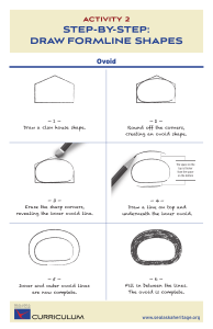 step-by-step: draw formline shapes