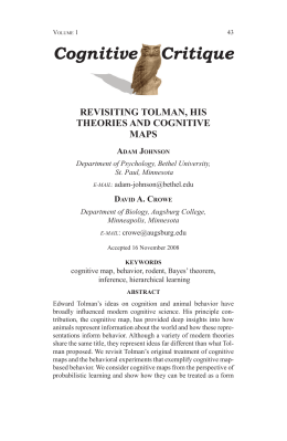 Full Text pdf - Cognitive Critique