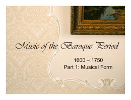 music appreciation baroque test
