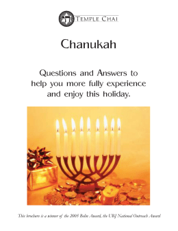 Chanukah Q & A full sheet.indd