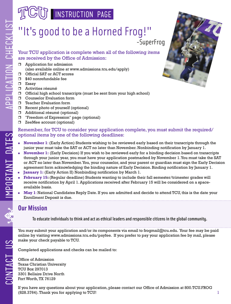 Tcu college application essay esl critical thinking editing for hire