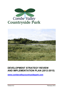 Combe Valley Countryside Park Development Strategy and