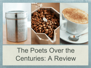 The Poets Over the Centuries: A Review
