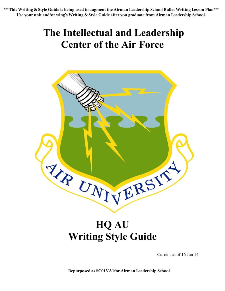 air force awards and decorations writing guide