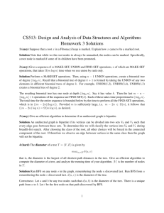 CS513: Design and Analysis of Data Structures and Algorithms