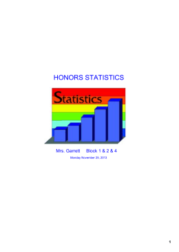 HONORS STATISTICS - Kenston Local Schools