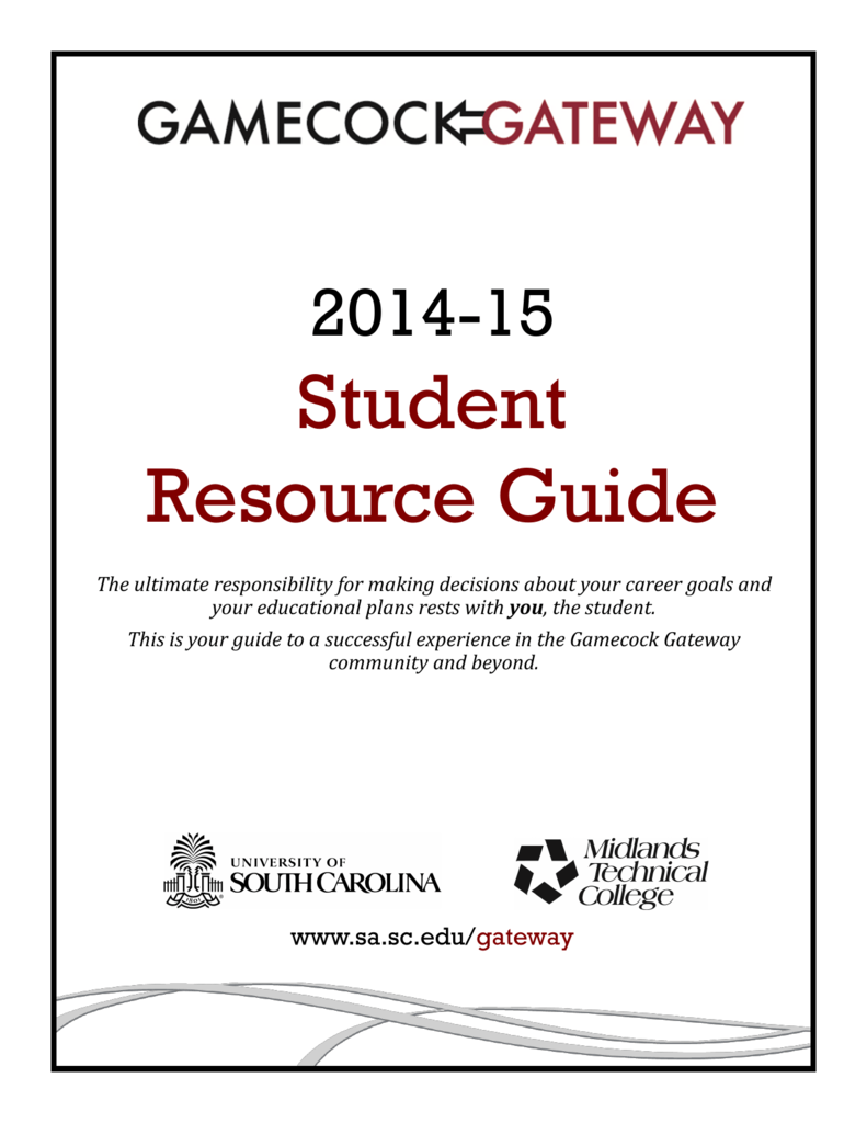 Student Resource Guide Student Affairs And Academic Support