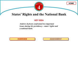 States' Rights and the National Bank