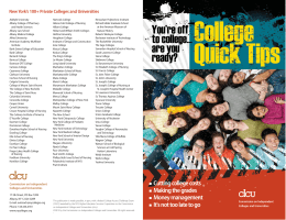 New York's 100+ Private Colleges and