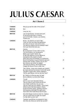 julius caesar related text
