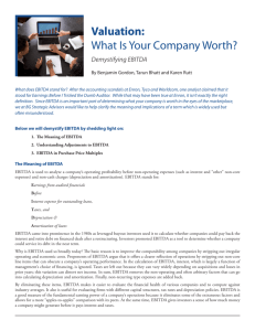 Valuation: What Is Your Company Worth?