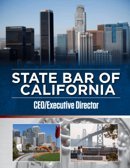 CEO/Executive Director - National Center for State Courts