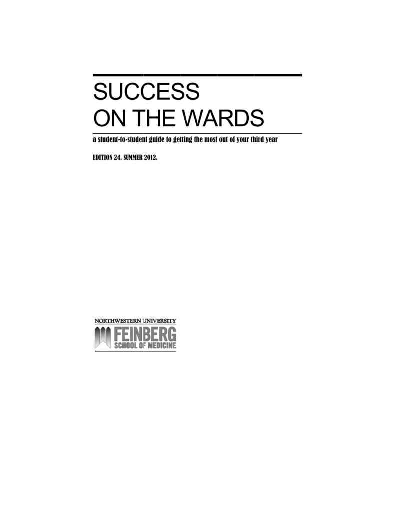 Success on the Wards - Feinberg School of Medicine