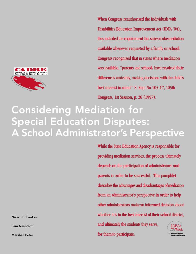 Resolving Special Ed Disputes >> S3 Studylib Net Store Data 008209659 1 C974af6f365