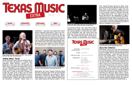 May 2013 - Texas Music Magazine