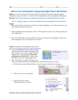 Worksheets Theory Of Plate Tectonics Worksheet the theory of plate tectonics worksheet example answers where are earthquakes happening right now worksheet