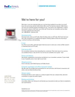 fedex.ehr.com Team Member Handbook - FedEx Office Commercial Press