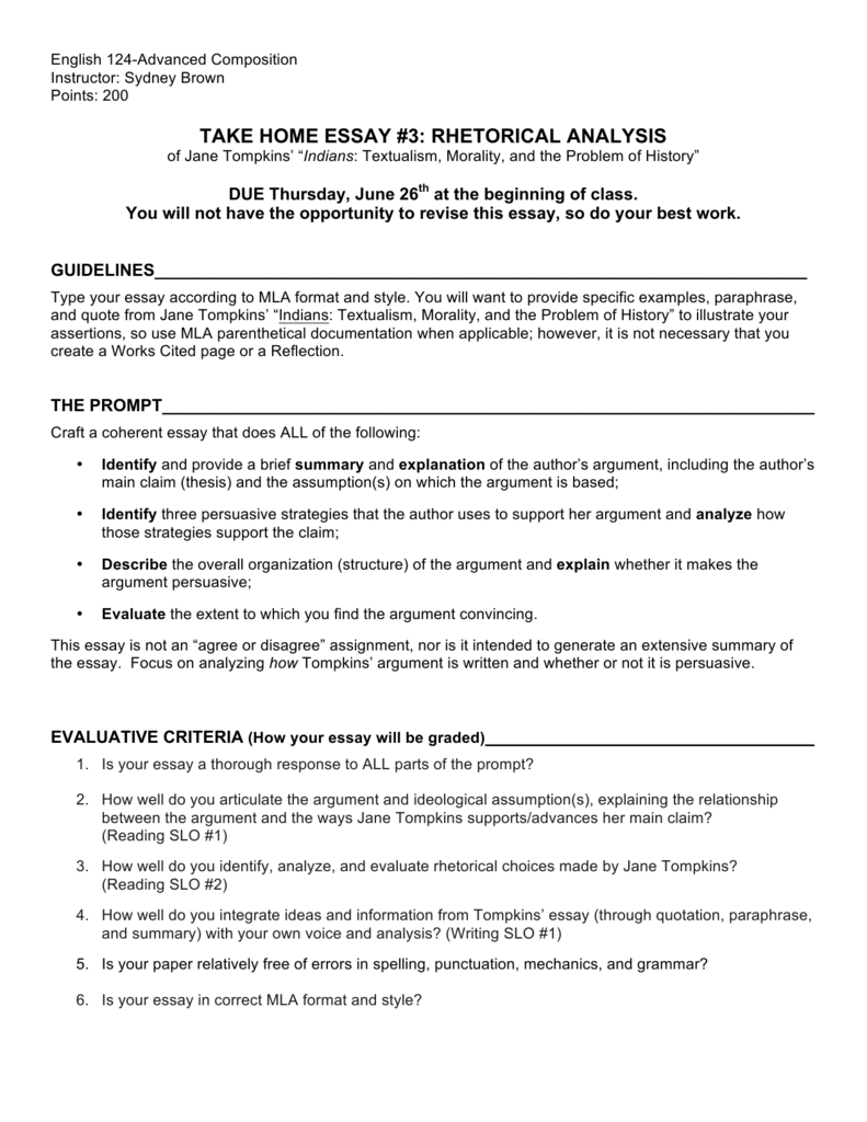 Ways to identify an opportunity essay