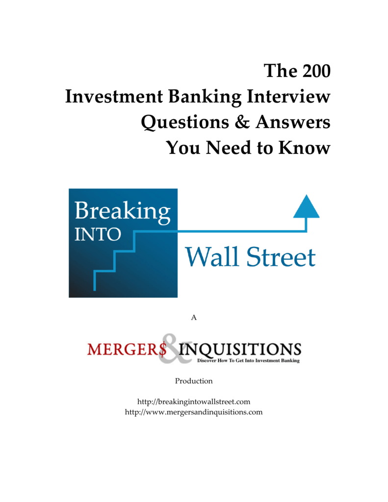 Why investment banking mergers and inquisitions equity excelsia investment