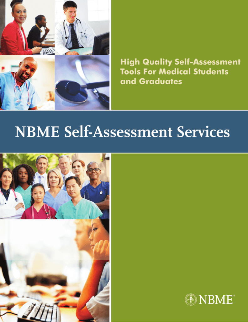 NBME Self-Assessment Services Information Guide