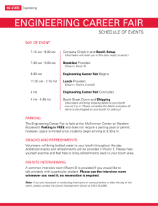 ENGINEERING CAREER FAIR - Engineering Student Organizations