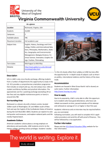 Virginia Commonwealth University placement profile