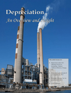 This article focuses on:- • Depreciation under AS 6 (Meaning