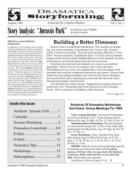 An analysis on jurassic park