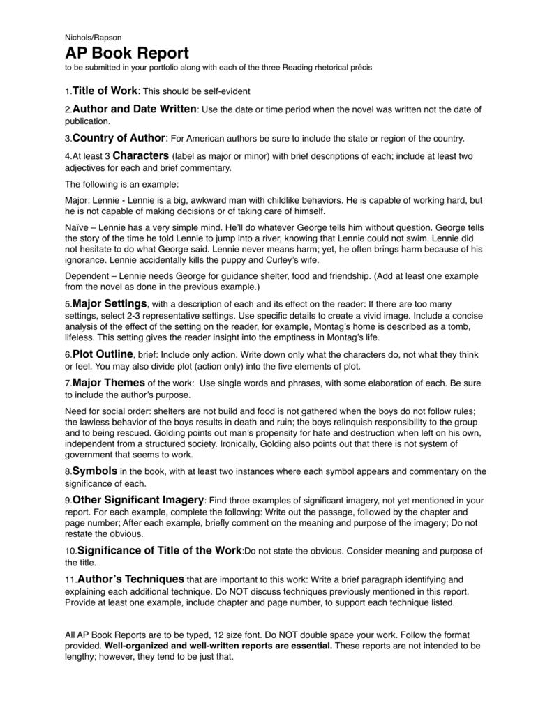 Ap format for book report cv proofreading websites au