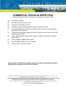 commercial rough-in inspection