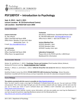 psy 210 syllabus Psy 210 l00a theories of personality taking tests and participation in course activities are afforded to credit students in the syllabus and is at the.