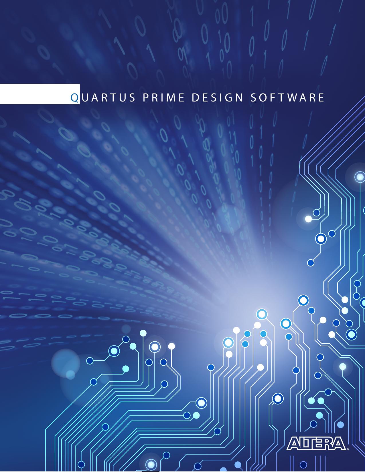 Quartus II Software Brochure