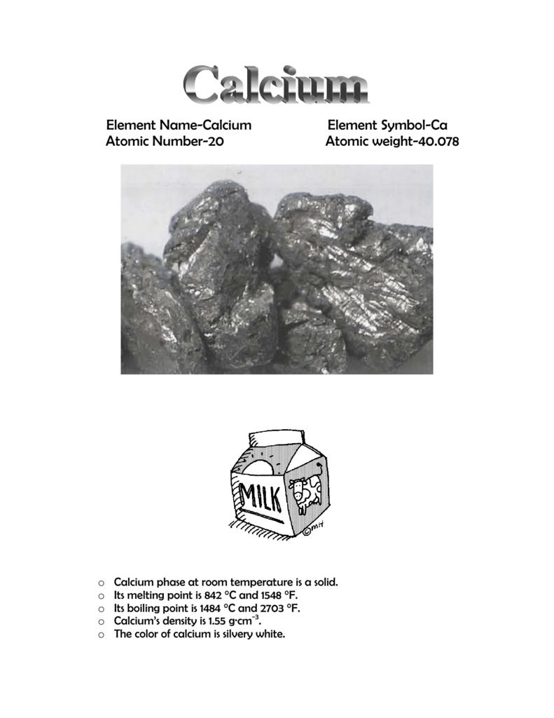 Element name calcium element symbol ca atomic number buycottarizona Image collections