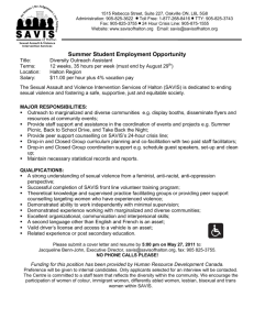 DRAFT JOB POSTING