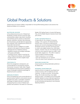 Global Products & Solutions