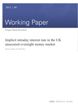 Implicit Intraday Interest Rate in the UK Unsecured Overnight Money