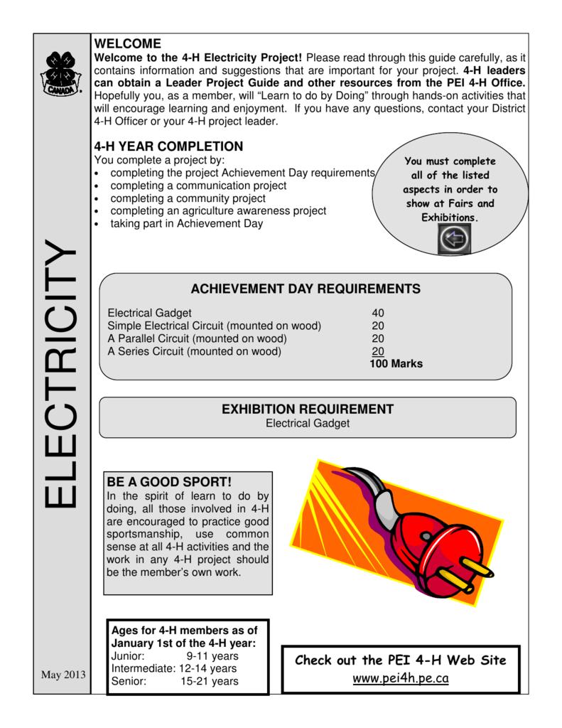 Achievement Day Requirement