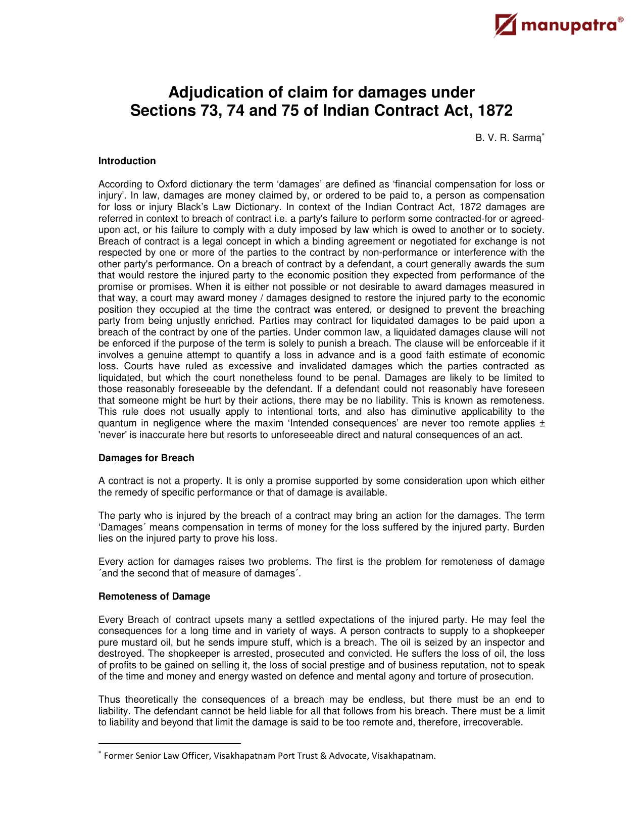 time barred debt indian contract act