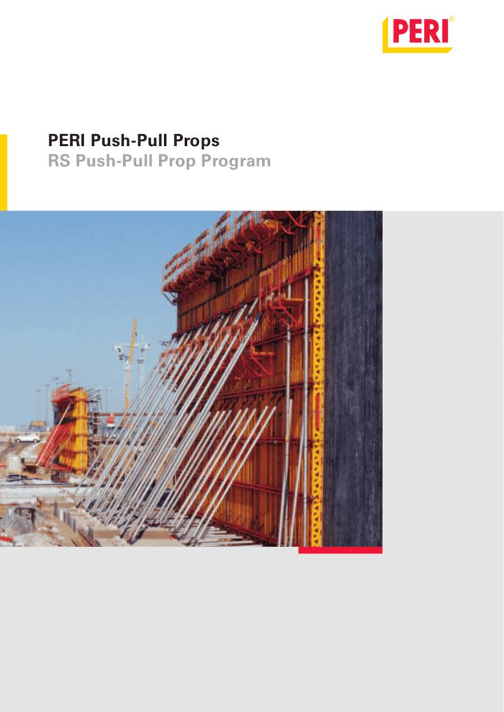 PERI Push-Pull Props RS Push