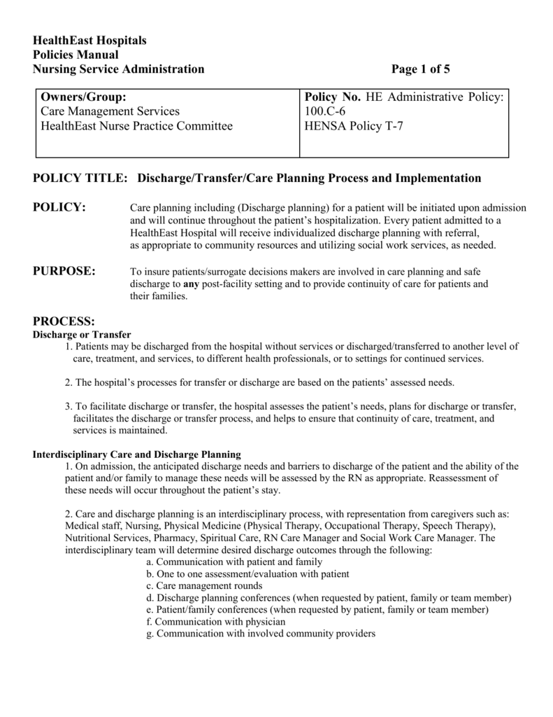 Discharge summary for physical therapy - Discharge Summary For Physical Therapy 81