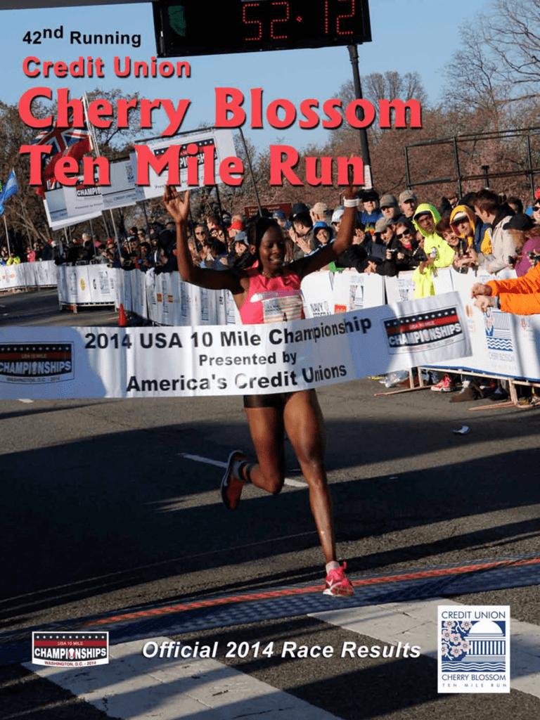 2014 Results Book Credit Union Cherry Blossom