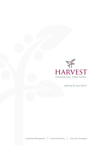 Brochure - Harvest Financial Partners