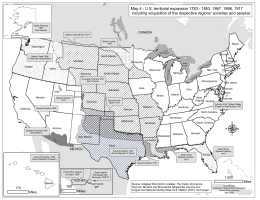 Map 4 - US territorial expansion 1783 - NACTS