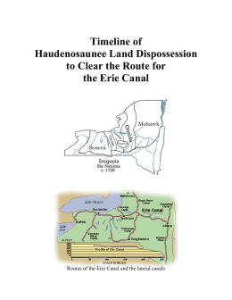 Haudenosaunee Land Dispossession Timeline
