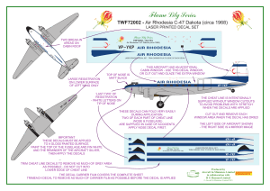 Flame Lily Series - Aircraft In Miniature Limited