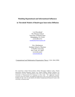 Modeling Reputational and Informational Influences in Threshold